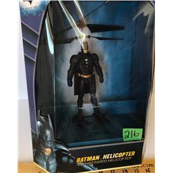 DC COMICS - BATMAN HELICOPTER - AS NEW