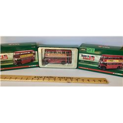 GR OF 3, CORGI 'BUSES IN BRITAIN' COLLECTION