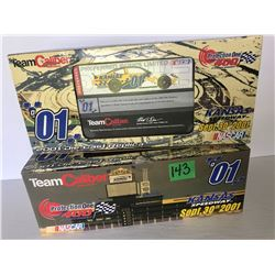 GR OF 2, NASCAR DIE-CAST COLLECTIBLES.