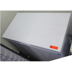 White Compact Chest Freezer