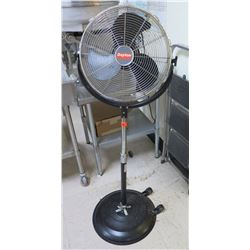 "Dayton 16"" Light Commercial Pedestal Fan Air Circulator Model 2LY94A"