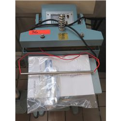 Commercial Foot Operated Sealer Direct Heat Seal Machine