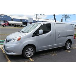 2013 Nissan Cargo Van 2 Side & Rear Loading - 63,677 miles (Runs & Drives See Video)
