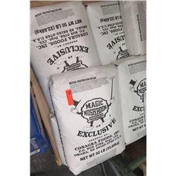 Multiple 50lb Bags Conagra Magic Mushroom Popcorn