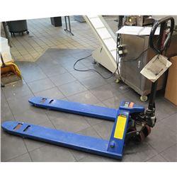 Equipate 5,500 lb Standard Fork Manual Pallet Jack Truck