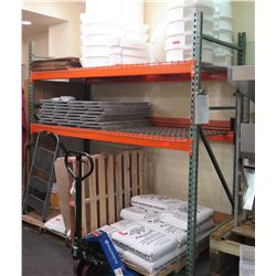 """Industrial Warehouse Shelving Unit 102""""W x 43""""D x 96""""H (Shelving Only, Nothing Else Included)"""