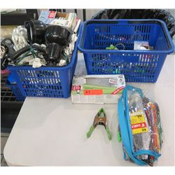 Misc Supplies - Ecobulb Multi-Pack, Cables, Bungees, Clamps, Desk Lights, etc