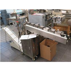 Coretamp ZV320 Automated Packing Machine w/ Domino Printer (Works See Video)