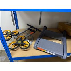 Folding Handtruck and Folding Stool