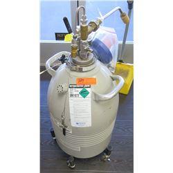 Matheson UN1977 Nitrogen Refrigerated Liquid Storage Dewar Tank
