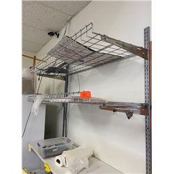 Wall-Mount Wire Shelving System