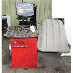 John Bean VPI System III Digital Computer Wheel Balancer Machine EEEB502A (Needs Repair)