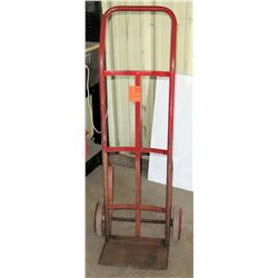 Rolling Red Continuous Handle Dolly Hand Truck