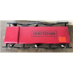 Craftsman 40  Mechanics Creeper w/ Metal Frame & 6 Casters Model 51158