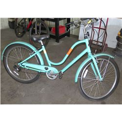 Benno Bikes Aqua Blue Ladies Road Bike w/ Shimano Tourney & Alloy Frame