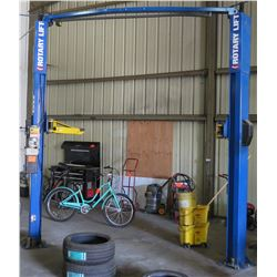 GHS Two-Post Rotary Car Lift 10,000-lb Capacity (Works, See Video)
