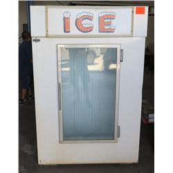 Leer Ice Merchandiser Indoor Bagged Ice Storage Freezer