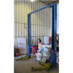 Two-Post Hydraulic Car Lift 7,000-lb Capacity, Model GPO (Works, See Video)