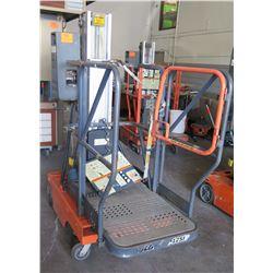 JLG Industries Personal Lift Push Around Stock Picker 500# Capacity Model 12SP (untested, needs repa