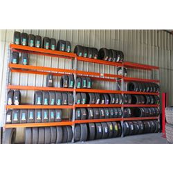 Approx 200 Tires! All New ! Various Sizes! (See 3rd Photo For Tire Sizes)