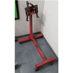 Rolling Metal Automotive Engine Stand