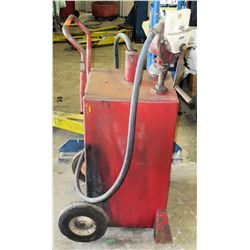 Heavy Duty Rotary Fuel Transfer Hand  Pump w/ Meter