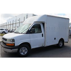 2013 Chevy Cutaway Cargo Van (Lisc 809TTY) (90,012 Miles) (Runs See Video)