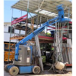 Genie 8000 lb Hoist Boom Platform Man Lift 1167 Hours (needs repair, does not run, reported to have