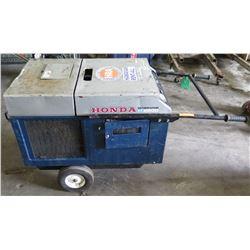 Honda EX-5500 Quiet 120V Portable Single Phase Generator (needs repair, parts may be missing, does n