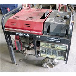 Honda Gen-Pro 12,000 Watts Portable Generator w/ Kleen Power (needs repair, parts may be missing, do