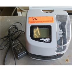 Amano Pix-95 Digital LCD Employee Time Clock