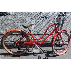 Benno Bikes Orange Ladies Road Bike w/ Shimano Gearing