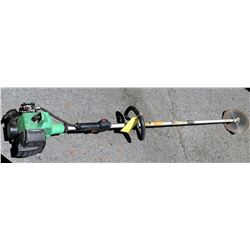 Hitachi CG22EAP2(SL) Pure Fire Straight Shaft String Grass Trimmer PO1427 (needs repair, parts may b