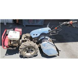 Walk-Behind Gas Tiller (needs repair, parts may be missing, does not run, sold as is)