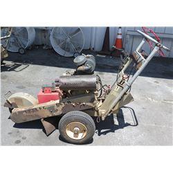 Honda Mobile Stump Grinder Machine (Runs & Works See Video)