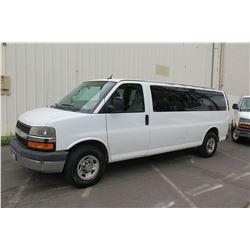 2012 Chevy Passenger Van (Runs See Video) (Lic 168TWE)