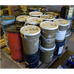 LARGE PALLET OF ASSORTED AUTOMOTIVE LUBRICANTS
