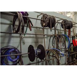 LARGE LOT OF ASSORTED HOSES