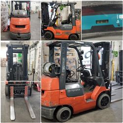 FEATURED ITEMS: TOYOTA FORKLIFTS