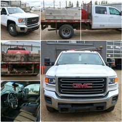 FEATURED ITEM: 2016 GMC SEIRRA 3500 FLAT BED