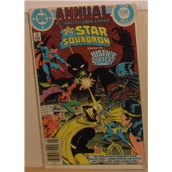 41 pages DC Annual All Star Squadron Justice Society #3 1984 - bande dessinée