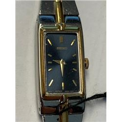 Ladies Seiko metal strap wrist watch