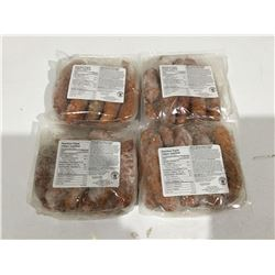 Bag of Maple Leaf Smoked Cooked Sausage Lot of 4