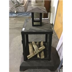"""NEW IN BOX Facto Outdoor Fireplace (26.38""""L x 26.38""""W x 40.55""""H)"""
