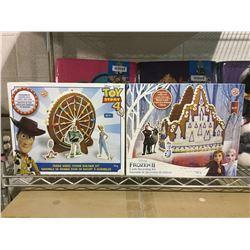 Disney Gingerbread Set Lot of 2