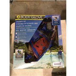 Body Glove Snorkel Set w/ Gear Bag