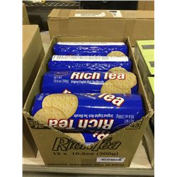 Case of Rich Tea English Tea Biscuits (12 x 300g)