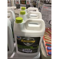 Havoline Conventional Anti-freeze (3.785L) Lot of 3