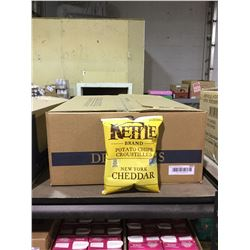 Case of Kettle Brand New York Cheddar Chips (24 x 45g)