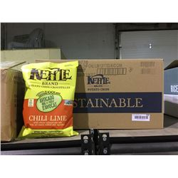 Case of Kettle Brand Chili Lime Potato Chips (12 x170g)